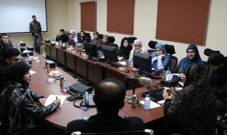 """""""Radio and TV news Production"""" Students' visit to Al-Nour Station"""