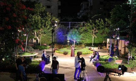 حلقة تلفزيونية خاصة بالمشاريع الطلابية