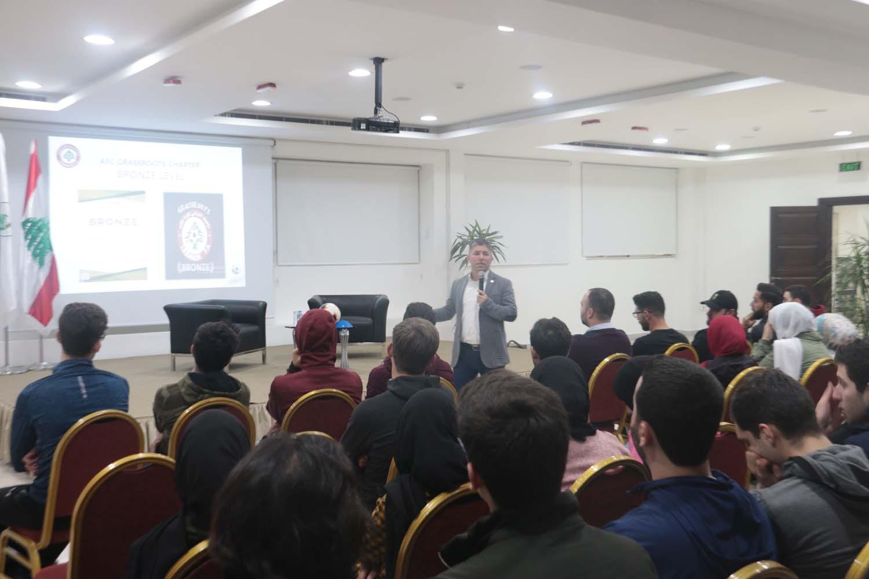 Seminar with Bassem Mohammad