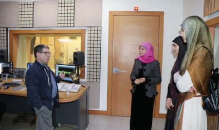 Media students visited Al Nour radio station