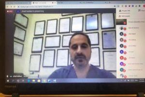 الدكتور جهاد حداد في لقاء تفاعلي