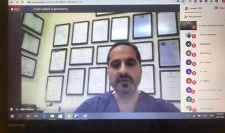 لقاء تفاعلي مع الدكتور جهاد حداد حول المنشطات الرياضية