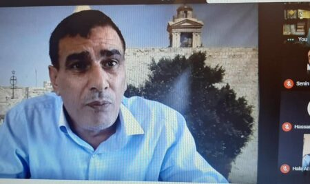 An Interactive Meeting with Journalist Nasser Al-Lahham on the Recent Developments in Occupied Palestine, and How They Are Covered in Media